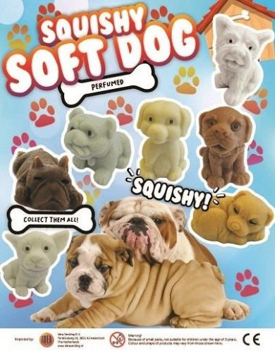 50mm Squishy Dogs x 100